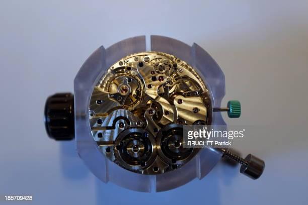 The watch manufacturer JaegerLeCoultre in the Vallee de Joux the workshop on August 28 2013 in Le SentierCanton De VauxSwitzerland