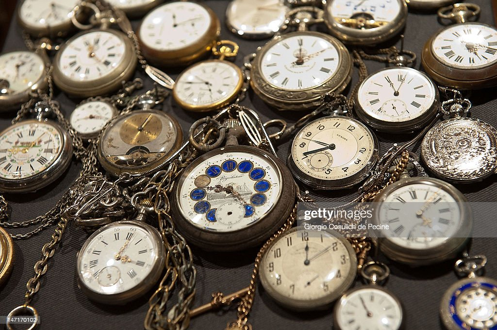 The watches of prayer are on display during the opening of the museum in the Capuchin convent of the Immaculate Conception of the Blessed Virgin Mary on June 26, 2012 in Rome, Italy. The monastery, which was first used by Capuchin monks and nuns in 1626, has become a destination for tourists from all over the world who visit an ossuary in the crypt which contains the skeletal remains of 3,700 monks.