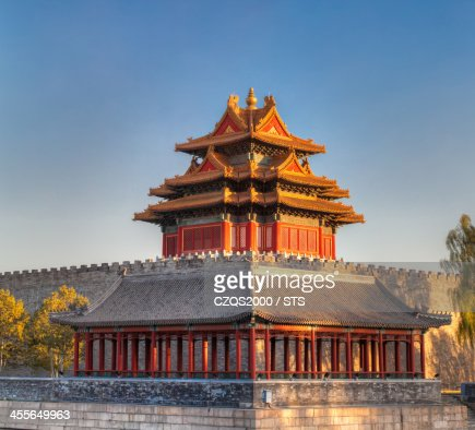 The Watchtower at The Forbidden City, Beijing