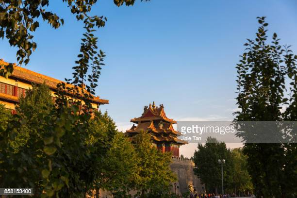 The watchtower of the forbidden city