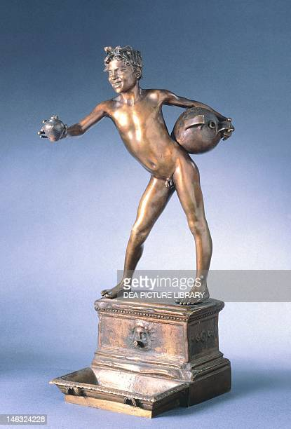The water carrier by Vincenzo Gemito bronze height 25 cm