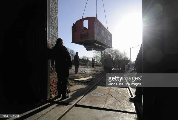 The water tank for the tender to Tornado the first mainlineready steam locomotive to be built in Britain for almost 50 years which is under...