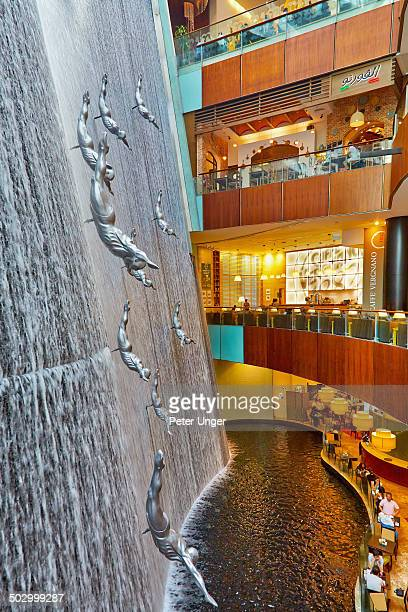 The Waterfall in the Dubai Mall