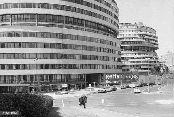 The Watergate Complex as it appeared shortly after opening in 1969 It later became associated with an infamous political scandal that bears its name