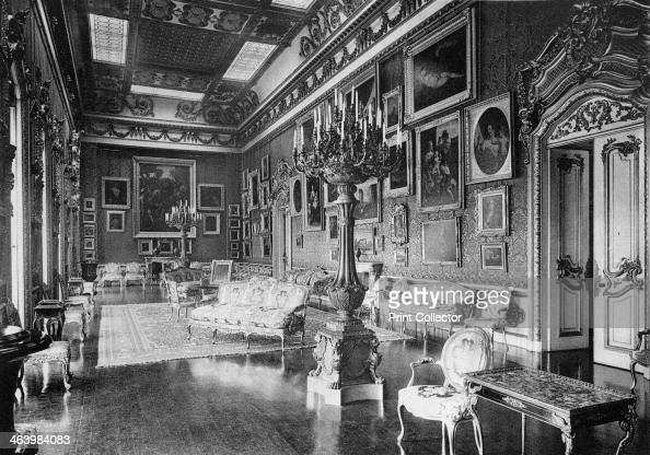 The Waterloo Chamber Apsley House 1908 Apsley House known as 'No 1 London' was the home of the Duke of Wellington A photograph from The Private...