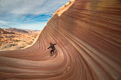 Geological anomalies are the main feature at The Wave at Vermilion Cliffs National Monument, Arizona