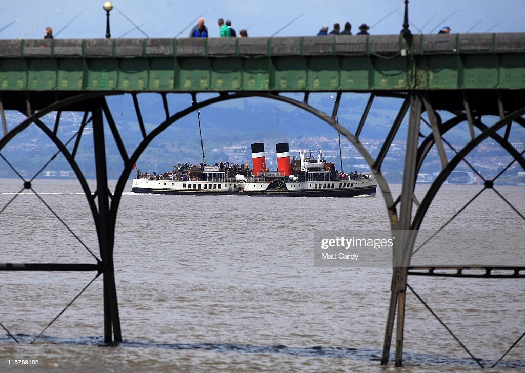 The Waverley, the world's last remaining seagoing passenger paddle steamer departs from Clevedon Pier on June 10, 2011 in Clevedon, England. Built in 1946, the trust which owns and operates the Waverley, is warning that this could be the last season for the vessel and is appealling for more public funding saying it is struggling to make ends meet in the current financial climate due in part to rising fuel costs. Restored in 1973 after service on Loch Long in Scotland, since 2003, Waverley has been listed in the British National Register of Historic Ships core collection as 'a vessel of pre-eminent national importance'.