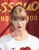 The wax figure of singer Taylor Swift is unveiled at Madame Tussauds Hollywood on October 27 2014 in Hollywood California