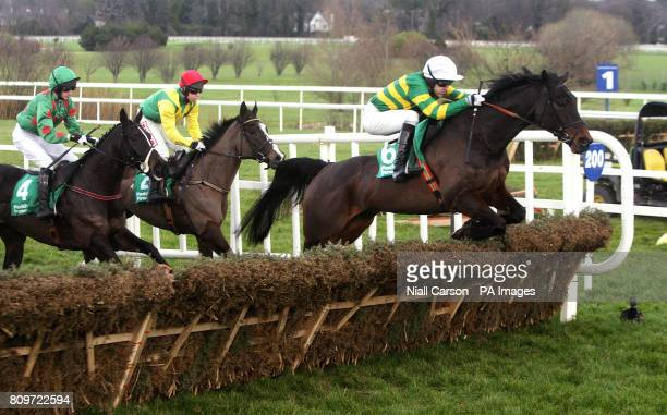 The Way We Were ridden by Tony McCoy goes on to win the paddypowercom Android App Maiden Hurdle during the Christmas Festival at Leopardstown...