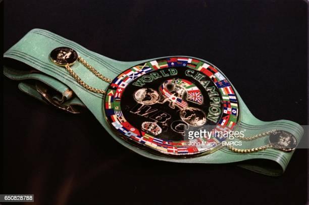 The WBC heavyweight belt