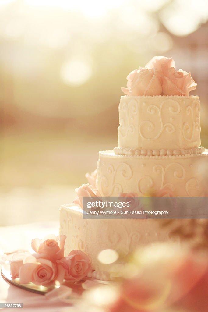 The Wedding Cake : Stock Photo