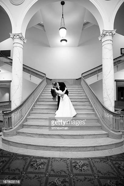 The Wedding Dip Kiss