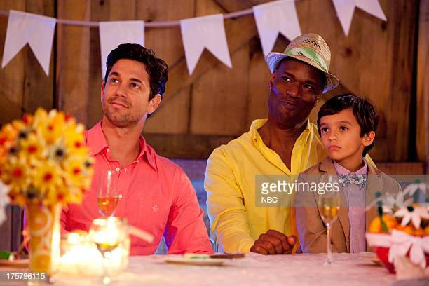 CAMP 'The Wedding' Episode 107 Pictured Adam Garcia as Todd Chris Kirby as Raffi William Oakley as Fyodor