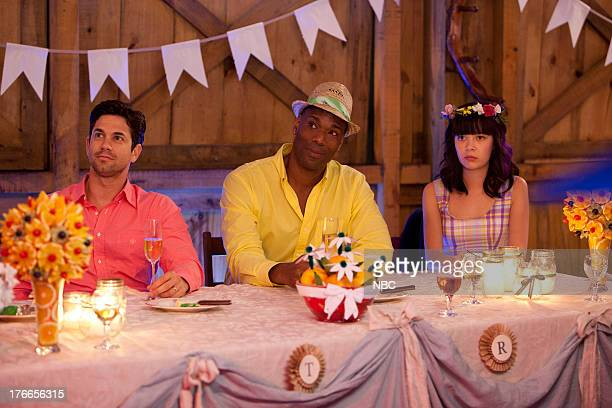 CAMP 'The Wedding' Episode 107 Pictured Adam Garcia as Todd Chris Kirby as Raffi Charlotte Nicdao as Grace