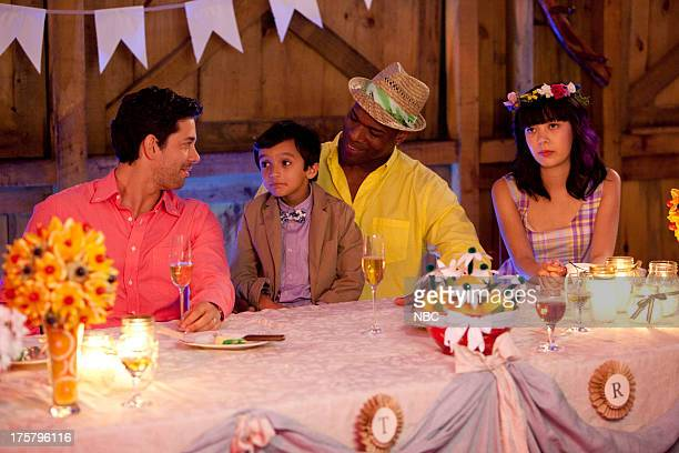 CAMP 'The Wedding' Episode 107 Pictured Adam Garcia as Todd William Oakley as Fyodor Chris Kirby as Raffi Charlotte Nicdao as Grace