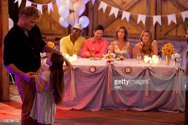 CAMP 'The Wedding' Episode 107 Pictured Nikolai Nikolaeff as Cole Chris Kirby as Raffi Adam Garcia as Todd Rachel Griffiths as Mackenzie 'Mack'...