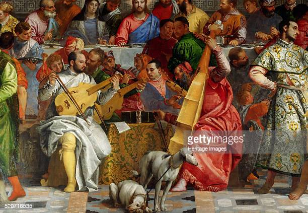 The Wedding Feast at Cana Found in the collection of Louvre Paris