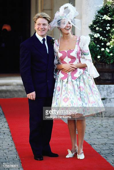 kenneth branagh and emma thompson wedding pictures getty