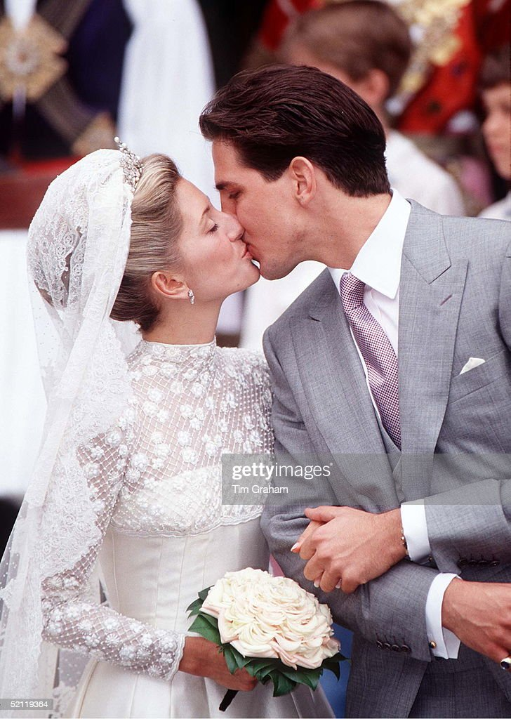 The Wedding Of Crown Prince Pavlos Greece To Marie Chantal Miller At St Sophia S