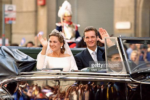 The Wedding Of Infanta Cristina Of Spain And Inaki Urdangarin At Barcelona Cathedral