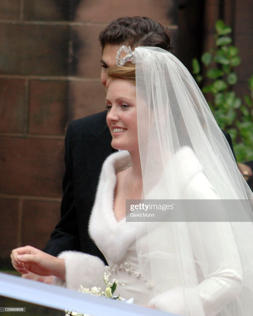 The wedding of Lady Tamara Katherine Grosvenor and Edward Bernard Charles van Cutsem at Chester Cathedral on Saturday November 6, 2004