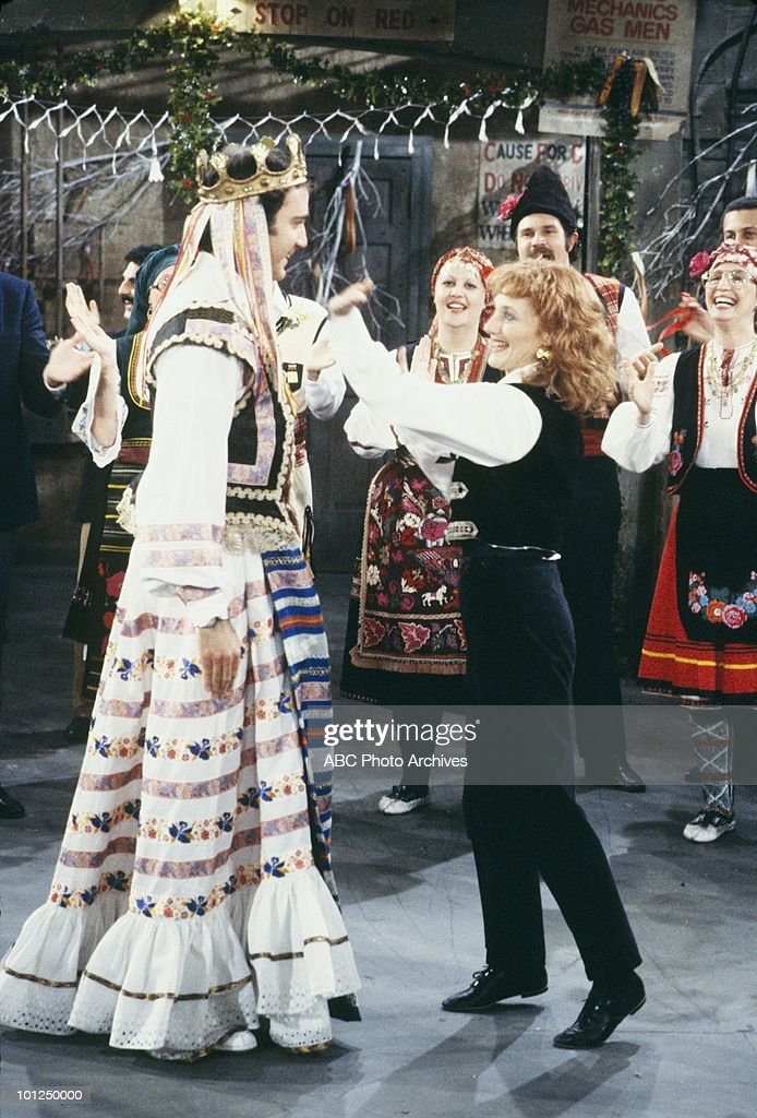 TAXI - 'The Wedding of Latka and Simka' which aired on March 25, 1982. (Photo by ABC Photo Archives/ABC via Getty Images) ANDY