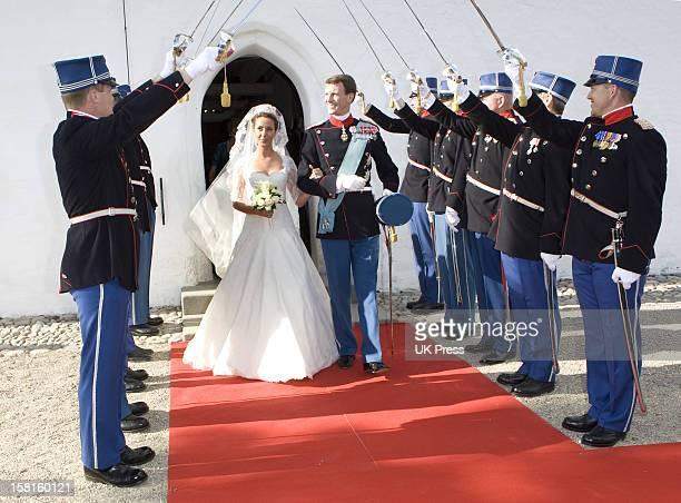 The Wedding Of Prince Joachim Of Denmark And Miss Marie Cavallier At Mogeltonder Church In Mogeltonder Denmark