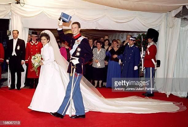 The Wedding Of Prince Joachim Princess Alexandra Of Denmark At Frederiksborg Castle