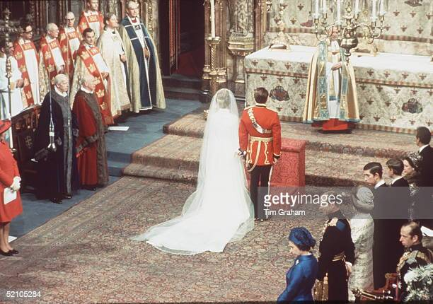 The Wedding Of Princess Anne To Captain Mark Phillips At Westminster Abbey