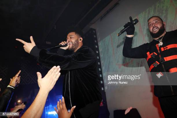 The Weeknd and Belly perform at SOB's on November 14 2017 in New York City