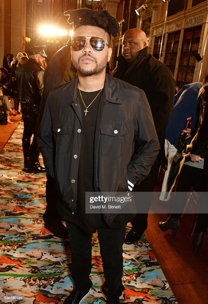 <a gi-track='captionPersonalityLinkClicked' href=/galleries/search?phrase=The+Weeknd+-+Musicien&family=editorial&specificpeople=8008743 ng-click='$event.stopPropagation()'>The Weeknd</a> attends as Christian Dior showcases its spring summer 2017 cruise collection at Blenheim Palace on May 31, 2016 in Woodstock, England.
