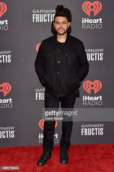 The Weeknd attends the 2015 iHeartRadio Music Festival at MGM Grand Garden Arena on September 19 2015 in Las Vegas Nevada