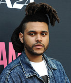 The Weeknd attends the premiere of 'Amy' at ArcLight Cinemas on June 25 2015 in Hollywood California