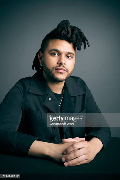 The Weeknd is photographed at the 2016 Juno Awards for The Globe and Mail on April 3 2016 in Calgary Alberta