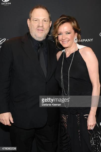 The Weinstein Company CoChairman Harvey Weinstein and Chopard CoPresident and Creative Director Caroline Scheufele attend The Weinstein Company...