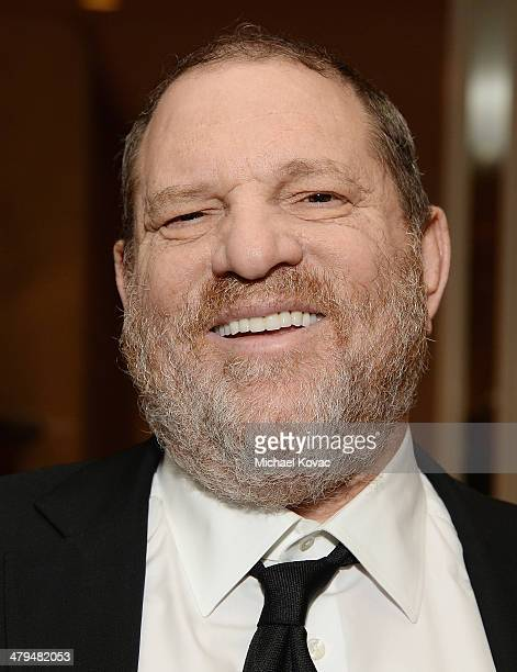 The Weinstein Company cochairman Harvey Weinstein attends Simon Wiesenthal Center's 2014 Tribute Dinner at Regent Beverly Wilshire Hotel on March 18...