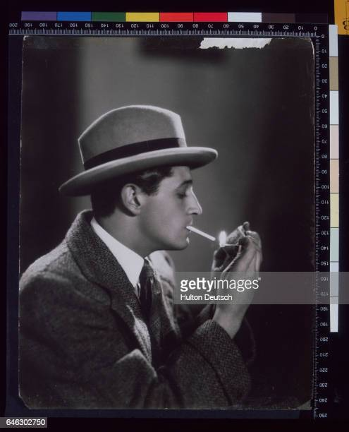 The Welsh actor composer and song writer Ivor Novello playing the role of Pierre Boucheron in The Rat