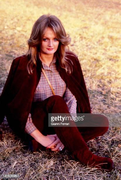 The Welsh singer Bonnie Tyler Madrid Spain