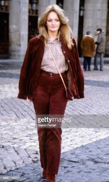 The Welsh singer Bony Tayler in Spain Madrid Castilla La Mancha Spain