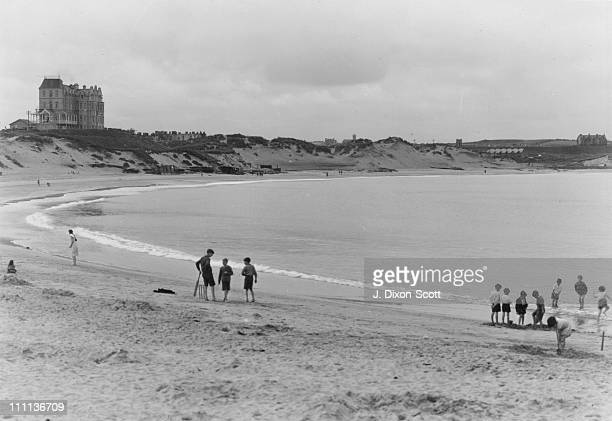The West Beach Portrush County Antrim Northern Ireland circa 1950