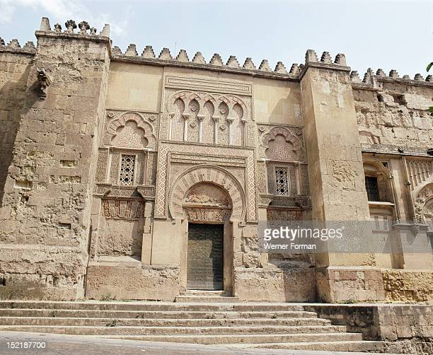 The west side of the Great Mosque at Cordoba Spain Islamic Begun 786AD Cordoba
