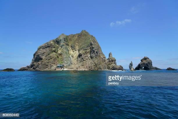The western islands of Dokdo
