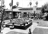 The Western White House circa 1969 in San Clemente California The estate also known as La Casa Pacifica was President Richard Nixon's retreat
