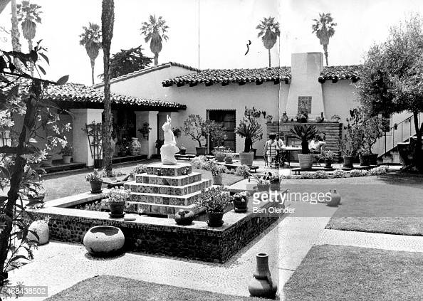 The Western White House circa 1969 in San Clemente California The estate also known as La Casa Pacifica was President Richard Nixon's retreat