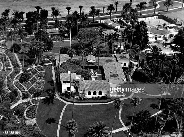 The Western White House circa 1984 in San Clemente California The estate also known as La Casa Pacifica was President Richard Nixon's retreat