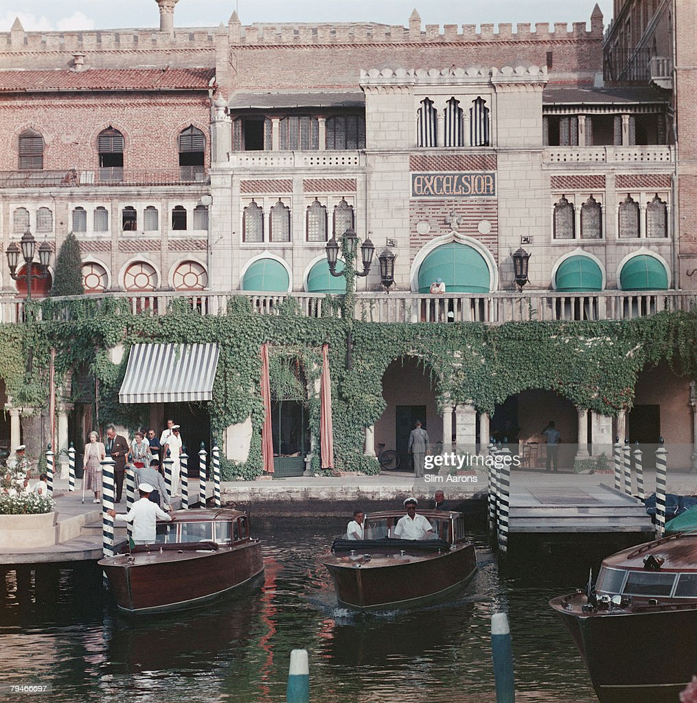The Westin Excelsior Hotel on the Lido in Venice 1957