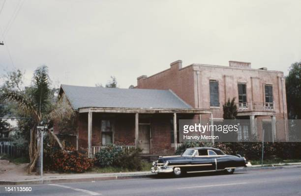 The Whaley House in the Old Town of San Diego California USA circa 1965 It was build in 1857 for the Whaley family and was designated the most...