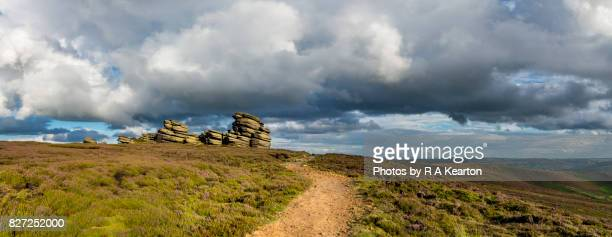 The Wheel Stones, Derwent edge, Peak District, Derbyshire