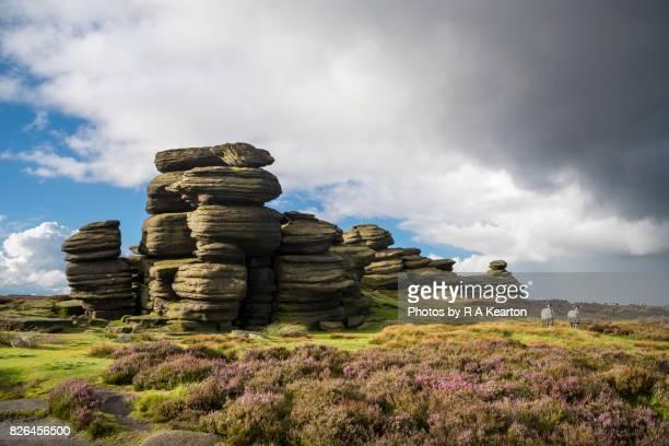 The Wheel Stones, Derwent edge, Peak District, England