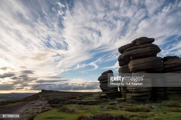 The Wheel Stones, Derwent edge, Peak District